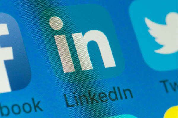 Using LinkedIn contacts to find work